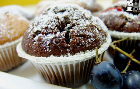 muffinki czekoladowe catering
