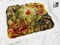 Anitipasti - warzywa grillowane z oliwą truflową