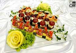 Koreczki Przekąskowe z serami pleśniowymi